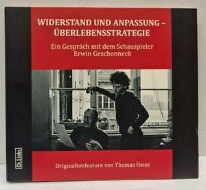 CD Widerstand und Anpassung - Überlebensstrategie - Gespräch mit E. Geschonneck