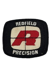 """Vintage Embroidered Redfield Scope Precision Patch 3"""" x 2-3/8"""" Free Shipping"""