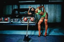 AGENT PROVOCATEUR PAYGE FULL SET BNWT BRA PANTIES BRIEF GREEN 32D Small Size 2