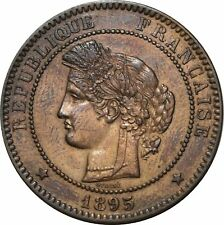 O293 Rare 10 Centimes Cérès 1895 A Paris SUP > Faire offre