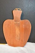Rustic Vtg Apple Wood Cutting Board Cheese Party Tray Country Decor Modern