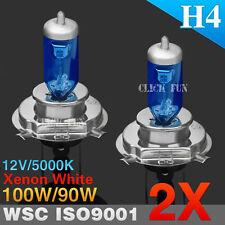 2pcs H4 100/90W HEADLIGHT GLOBES CAR LIGHT BULBS 5000K 12V XENON SUPER WHITE