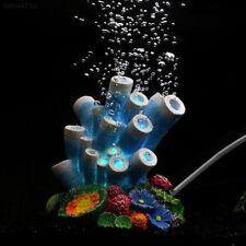 3446 Piedra Coral burbuja de aire bomba de oxígeno acuario peces tanque ornamento de nivel por borboteo Deco