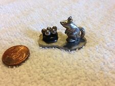 Miniature Metzke 1978 Pewter Mouse