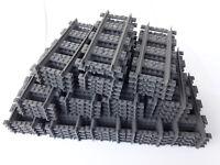 10 gerade Schienen *neu* Original Lego City® Eisenbahn 7499 7895 60051
