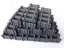 10 gerade Schienen *neu* RC Original Lego City ® Eisenbahn 60205 60051 60052