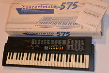 '97 RADIO SHACK OPTIMUS CONCERTMATE 575 PORTABLE ELECTRONIC KEYBOARD! 100 SOUNDS