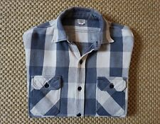 Warehouse Co. Selvedge Heavy Flannel Work Shirt tag 40 Made in Japan