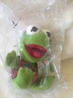 1988 McDonald's Plush Baby Kermit the Frog Jim Henson's Muppets