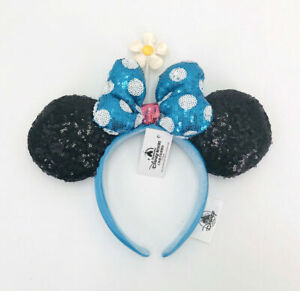 Timeless Flower Disney Parks Disneyland Polka Dot Hat 2021 Minnie Ears Headband
