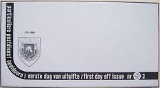 Stadspost Apeldoorn 1983 - FDC 3 met 1883-1983 en zonder zegels