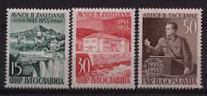 2242-YUGOSLAVIA 1953 AVNOJ - TITO MNH