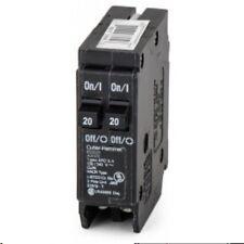 Cutler-Hammer Circuit Breaker BD2020 2P 20A Type BRD
