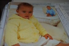 Sirdar Knitting Pattern 1614 Snuggly Bubbly Jacket 3mos to 8 yrs
