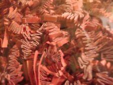 Red Crinkle Cut Paper Shred ~Gift Bag Basket Grass Filler Bedding #Zf08Re 8oz