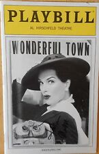 Signed KATHLEEN MARSHALL (only) New Playbill  WONDERFUL TOWN BROOKE SHIELDS 2005