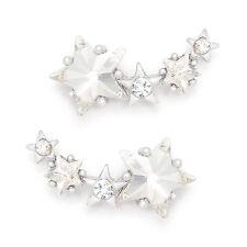 Celebrity Style Jewelry ~ Stud Earrings 925 Sterling Silver Needle Made In Korea