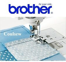 1/4 INCH PATCHWORK QUILTING FOOT + GUIDE 100% GENUINE - BROTHER SEWING MACHINES