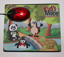 Kids cartoon mouse pad, mouse pad for children, fun mousepad. USA seller!