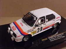 1 43 Ixo Citroen visa Chrono #28 Rally Monte Carlo 1983