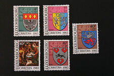 Timbres / Stamp LUXEMBOURG Yvert et Tellier n°1036 à 1040 N** (cyn10)