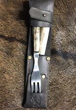 Camp Knife And Fork Antler Hunting