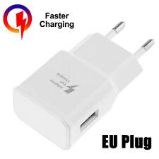 Schnell Ladegerät Netzteil Stecker Netzstecker Charger 2A USB Weiß für Samsung
