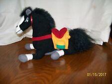 "Disney Store Mulan Khan the Horse Doll Plush Bean Beanie Bag 7"""