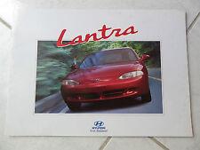 Hyundai Lantra 1996 - catalogue dépliant brochure prospekt catalog