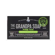 Grandpa s  Face Body   Hair Bar Soap  Pine Tar  3 25 oz  92 g