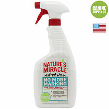 Nature's Miracle No More Marking Pet Stain & Odor Remover For Dogs, 24-Oz Spray