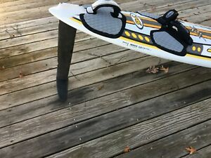 Windsurfing hydrofoil fin. Tuttle.