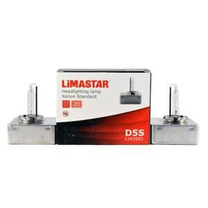 2 x 5500k D5S HID Xenon OEM Replacement Headlight Bulbs - Limastar