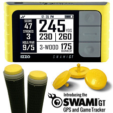 """50% OFF"" IZZO SWAMI GT GOLF GPS / GAME TRACKER / AMAZING +FREE GIFTS !!!!!!!!!!"