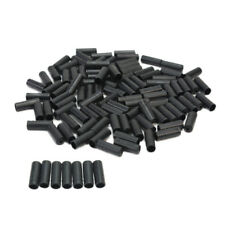 100pcs Black Brake Cable Housing Ferrule End Caps Crimp For Bike Bicycle Part