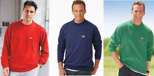 NEW Men's Haband American Flag Pullover Rib Knit Trim Sweatshirt FREE SHIPPING