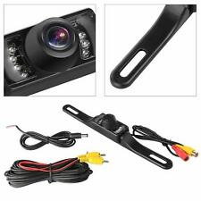 Car Cmos Backup Camera License Plate Mount Rear View Night Vision Parking System