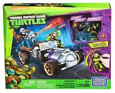 Mega Bloks Teenage Mutant Ninja Turtles Donnie Turtle Racer DMX52 129Pcs