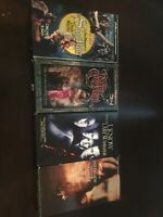 Lot of  4 VHS / VCR Tapes Horror/sci-if MOVIES Fully Tested !!!