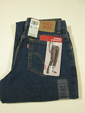 LEVI 550 CLASSIC STRETCH RELAXED JEANS MS SZ 6 LONG NWT
