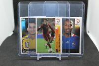 2008 Panini Euro Soccer Sticker Lot - Ronaldo, Ibrahimovic, 40+ Soccer Legends!