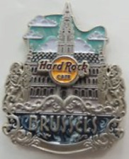 Hard Rock Cafe BRUSSELS 2017 Core City ICONS Series PIN New on Card - HRC #95934