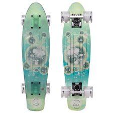 Cal 7 Nebula 22 Inch Complete Mini Cruiser Plastic Skateboard for Christmas