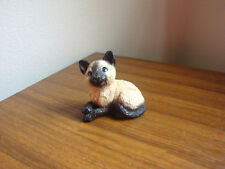 STONE CRITTERS LITTLES SIAMESE KITTEN NUMBERED SCL-030 1988