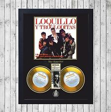LOQUILLO TROGLODITAS A POR ELLOS CUADRO GOLD/PLATINUM CD EDICION LIMITADA FRAMED