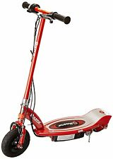 Razor E100 Kick Scooter Red Electric Kid Safe Ride On 24V Battery Charger ~ New