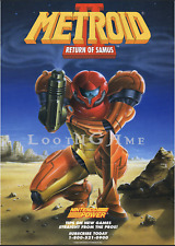 "Metroid 2 Poster Reprint 12""x 18"" GameBoy"