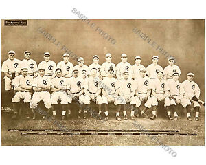 1910 CHICAGO CUBS NLCS CHAMPIONS WORLD SERIES 8X10 TEAM PHOTO