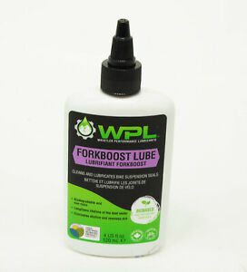 WPL ForkBoost Fork Seal Lubricant and Cleaner, Biodegradable Bio-Based
