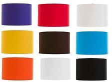 "12"" Drum / Cylinder Lampshade Red, Black, White, Orange, Cream, Blue, Purple"
